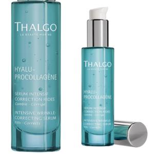 Thalgo Hyalu-Procollagène Intensive Wrinkle-Correcting Serum vermindert expressielijntjes en permanente rimpels effectief.